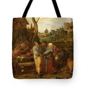 Boer Fisticuffs Tote Bag