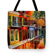 Bold Vieux Carre Tote Bag