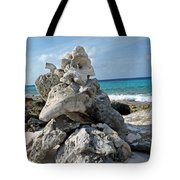 Bonaire Coral And Shells 3 Tote Bag