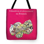 Book Cover Education Et Citoyennete Au Rwanda Tote Bag