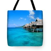 Bora Bora Lagoon Resort Tote Bag