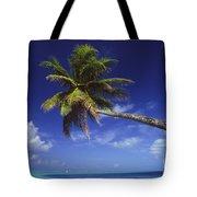 Bora Bora, Palm Tree Tote Bag