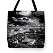 Boston's Big Dig Tote Bag
