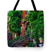 Botanical Village Tote Bag