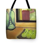 Bottles And Pears No 2 Tote Bag