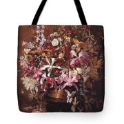 Bouquet Of Orchids Tote Bag