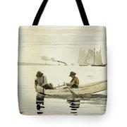Boys Fishing Tote Bag