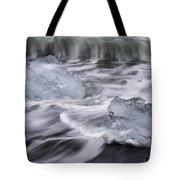 Brethamerkursandur Iceberg Beach Iceland 2588 Tote Bag