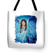 Brianna Little Angel Of Strength And Courage Tote Bag