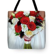 Bridal Bouquet Tote Bag