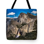 Bridalveil Falls Rainbow #2 Tote Bag