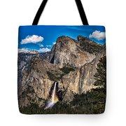 Bridalveil Falls Rainbow #2 Tote Bag
