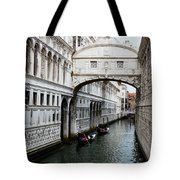 Bridge Of Sighs, Venice, Italy Tote Bag