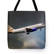 British Airways Airbus A319-131 Tote Bag