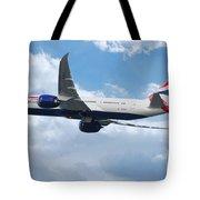 British Airways Boeing 787 Dreamliner Tote Bag