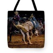 Bronco Riding Tote Bag
