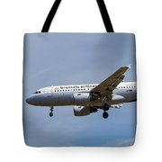 Brussels Airlines Airbus A319 Tote Bag