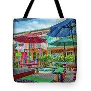 Bubble Room Restaurant - Captiva Island, Florida Tote Bag