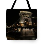 Budapest At Night. Tote Bag
