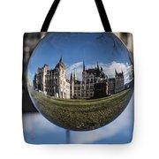 Budapest Globe - Houses Of Parliament Tote Bag