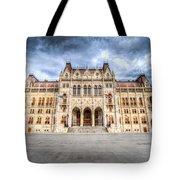 Budapest Parliament Tote Bag
