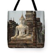 Buddha At Sukhothai Tote Bag