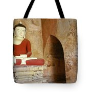Buddha In A Niche Tote Bag