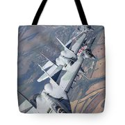 Bulgarian And Polish Air Force Mig-29s Tote Bag