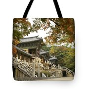 Bulguksa Buddhist Temple Tote Bag