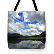 Bull Lake Reflection Tote Bag