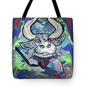 Bullish - A Bull With A Heart - Untie Me Tote Bag