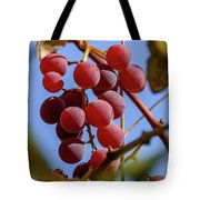 Bunch Of Grapes Tote Bag