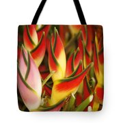 Bunch Of Heliconia Tote Bag