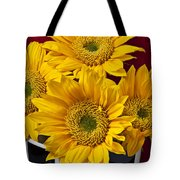 Bunch Of Sunflowers Tote Bag