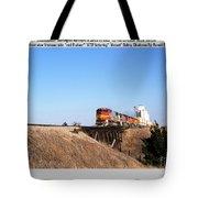 Burlington Northern Santa Fe Bnsf - Railimages@aol.com Tote Bag