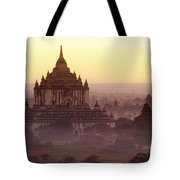 Burma Landscape Tote Bag