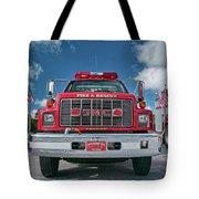 Burnington Iolta Fire Rescue - Tanker Engine 1550, North Carolina Tote Bag