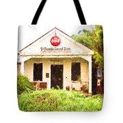 Burnside General Store - Digital Painting Tote Bag