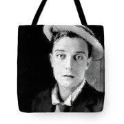 Buster Keaton, Legend Tote Bag