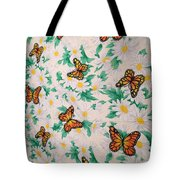Butterflies And Daisies - 1 Tote Bag