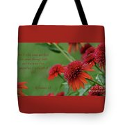 By Grace You Have Been Saved Tote Bag