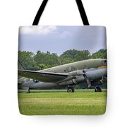 C-46 Commando Tinker Belle Tote Bag