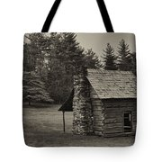 Cabin On The Blue Ridge Parkway - 15 Tote Bag