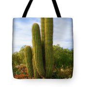 Cactus Monterey California Tote Bag