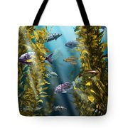 California Kelp Forest Tote Bag