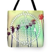 California Palms IIi Tote Bag