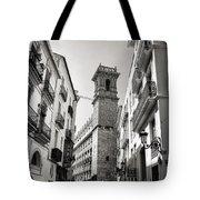 Calle Serranos In Valencia Tote Bag