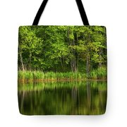 Calming Trees Tote Bag