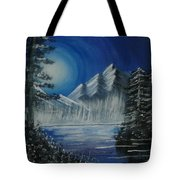 Calmness Under Moon Tote Bag