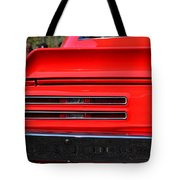 Firebird Tail Light Tote Bag